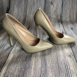 Taupe High Heels